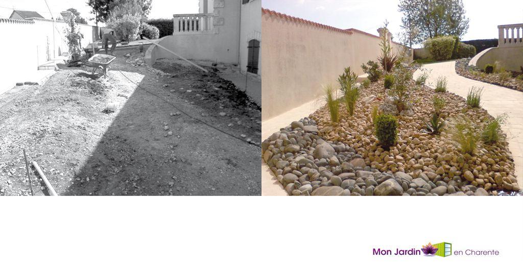 Nos r alisations mon jardin en charente expert en for Entretien jardin angouleme