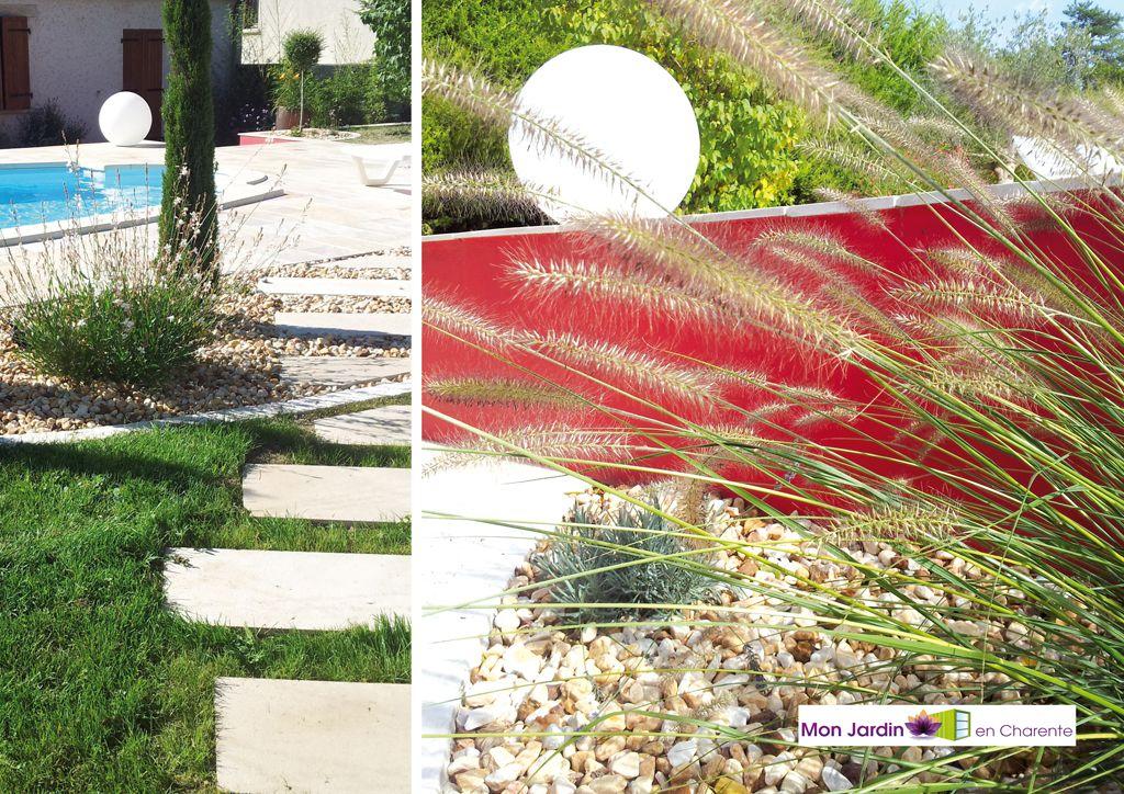 Nos r alisations mon jardin en charente expert en for Entretien jardin charente